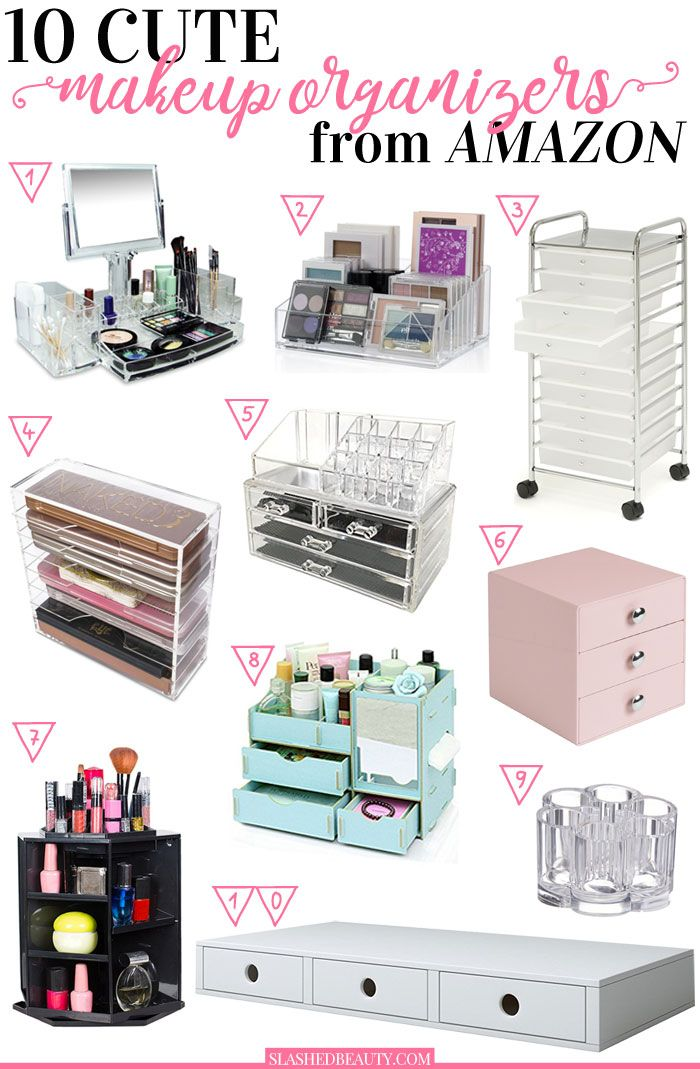 10 Cute Makeup Organizers to Buy on Amazon Makeup