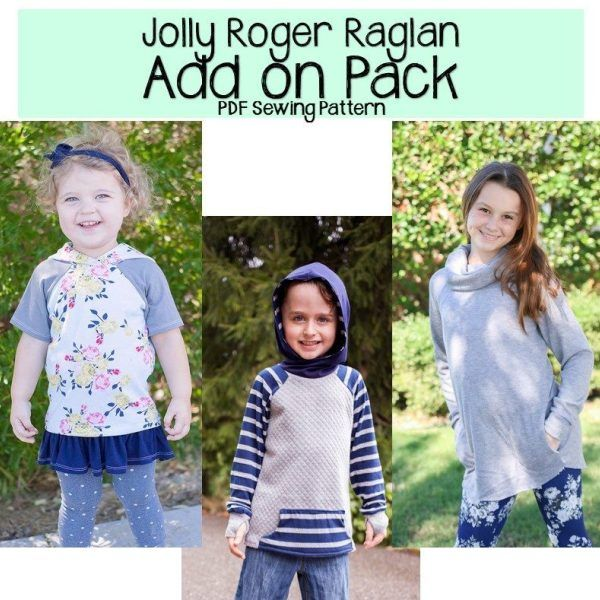 Jolly Roger Raglan Add On Pack Patterns For Pirates Raglan