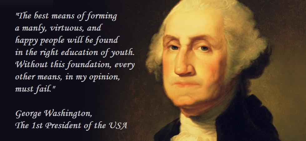 George Washington Quotes | George Washington Quote On Education Inspiration Pinterest
