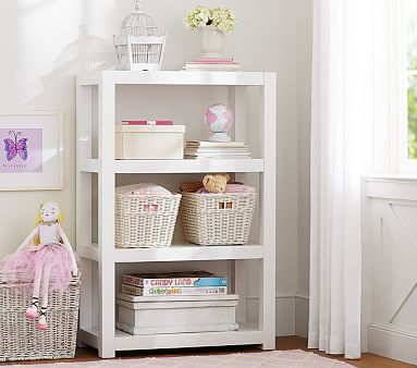 Parsons Bookcase #pbkids Could totally build this as well for asher room