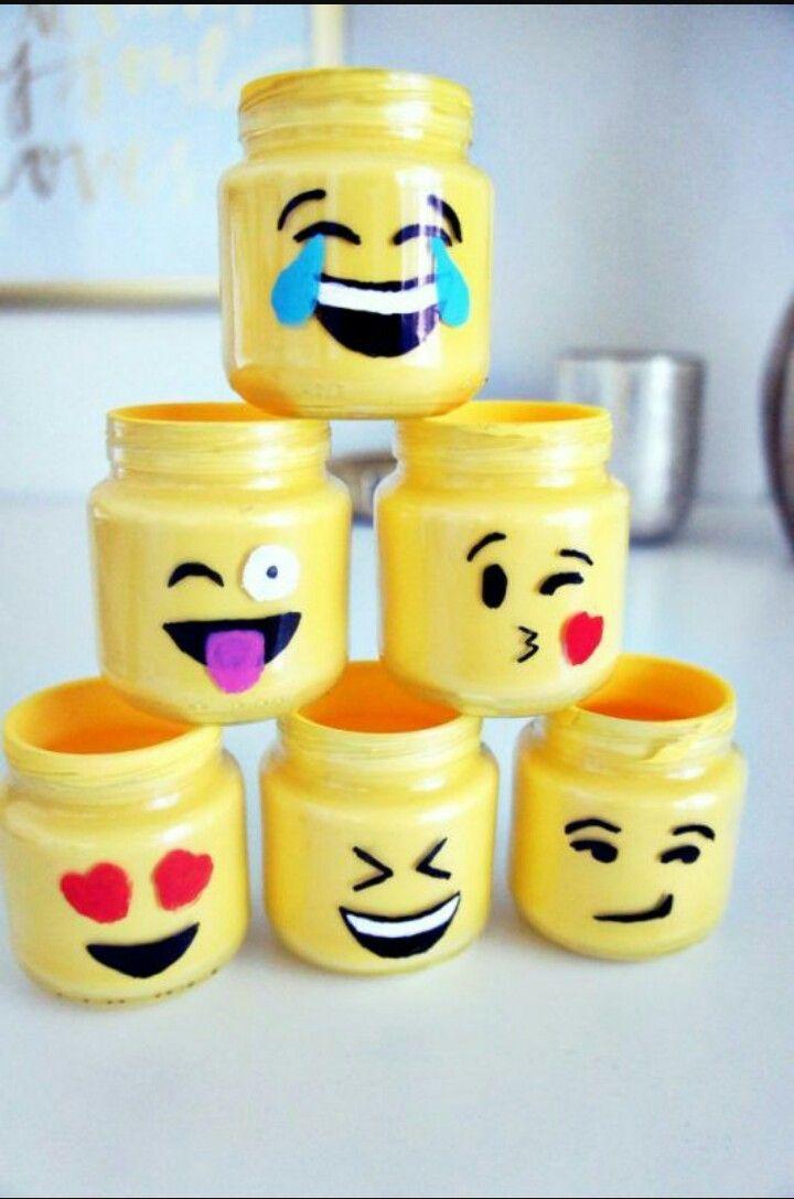 Unos preciosos lapiceros de emojis!!! | Manualidades | Pinterest