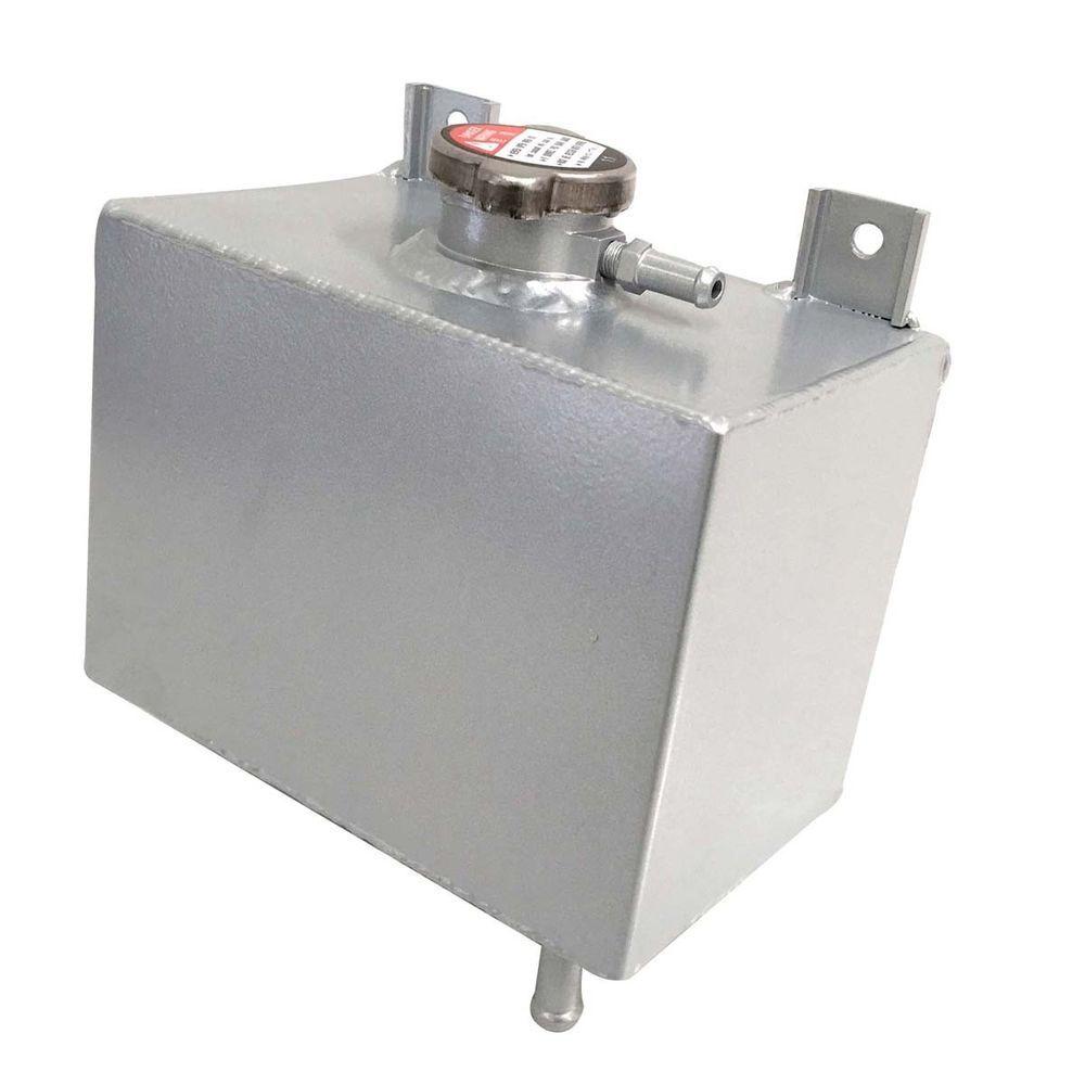 Aluminum Radiator Coolant Overflow Bottle Tank Reservoir