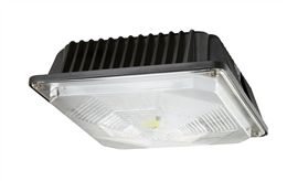 Led surface mount canopy lights for canopies garages and shops 45 superior lighting 40 70 watt led ceiling mount canopy or garage light fixture model 7802clbw028 mozeypictures Image collections