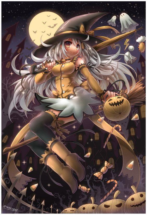 Pin by Lisa Westbrook on Halloween Theme | Anime halloween ...