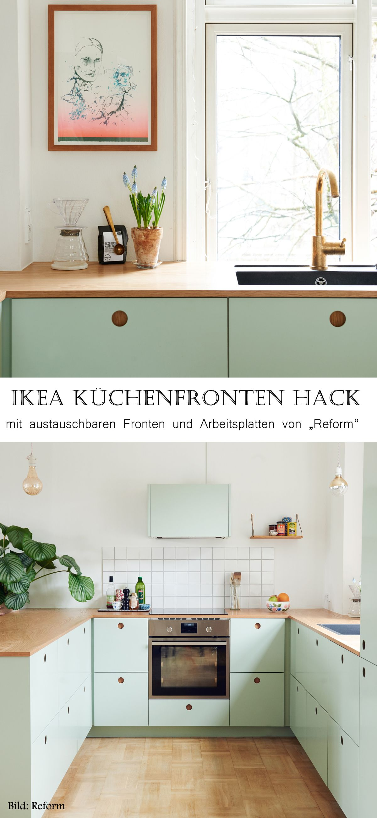 ikea k chenfronten pimpen fr hlingsstimmung zieht ein pinterest ikea metod kitchen. Black Bedroom Furniture Sets. Home Design Ideas