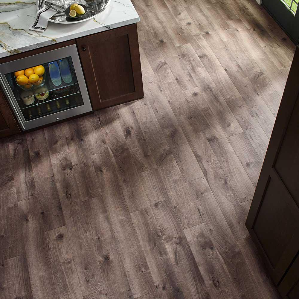 Pergo Xp Warm Grey Oak 8 Mm Thick X 6 1 8 In Wide X 47 1 4 In Length Laminate Flooring 16 12 Sq Ft Cas In 2020 Wood Floors Wide Plank Laminate Flooring Flooring