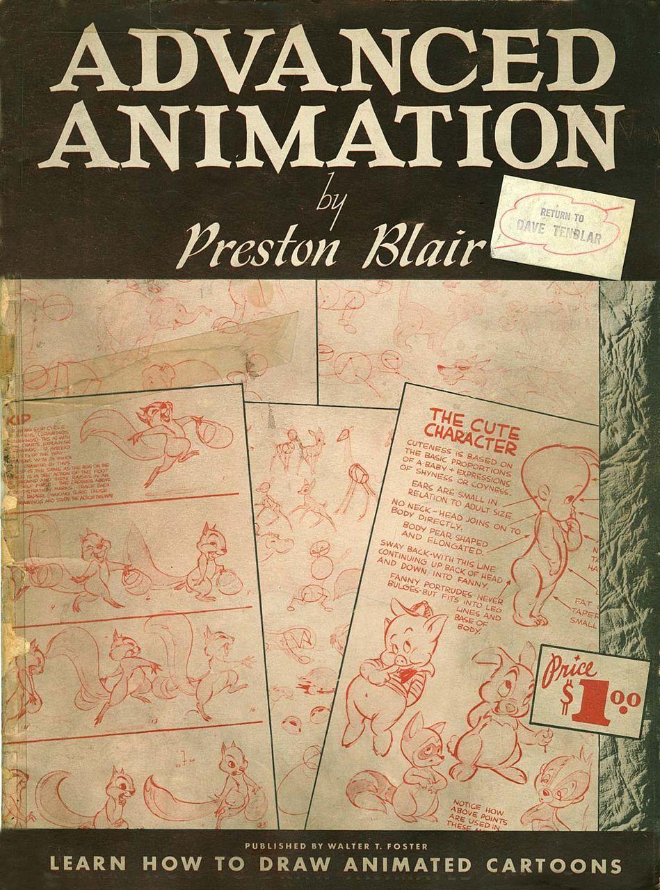 ミッキーマウスを動かした巨匠の貴重なノウハウ教本「Advanced Animation」 - DDN JAPAN