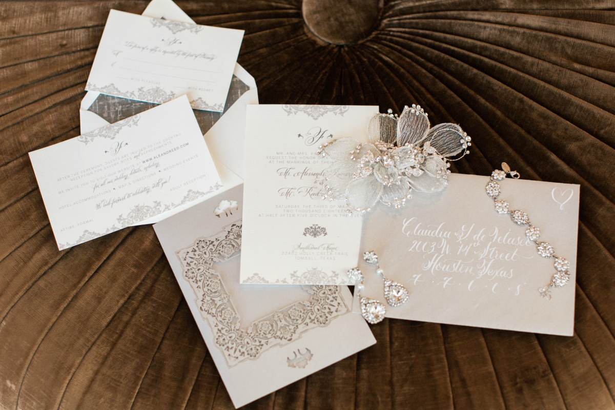 10 Unique Wedding Invitation Ideas | Invitation ideas, Silver ...