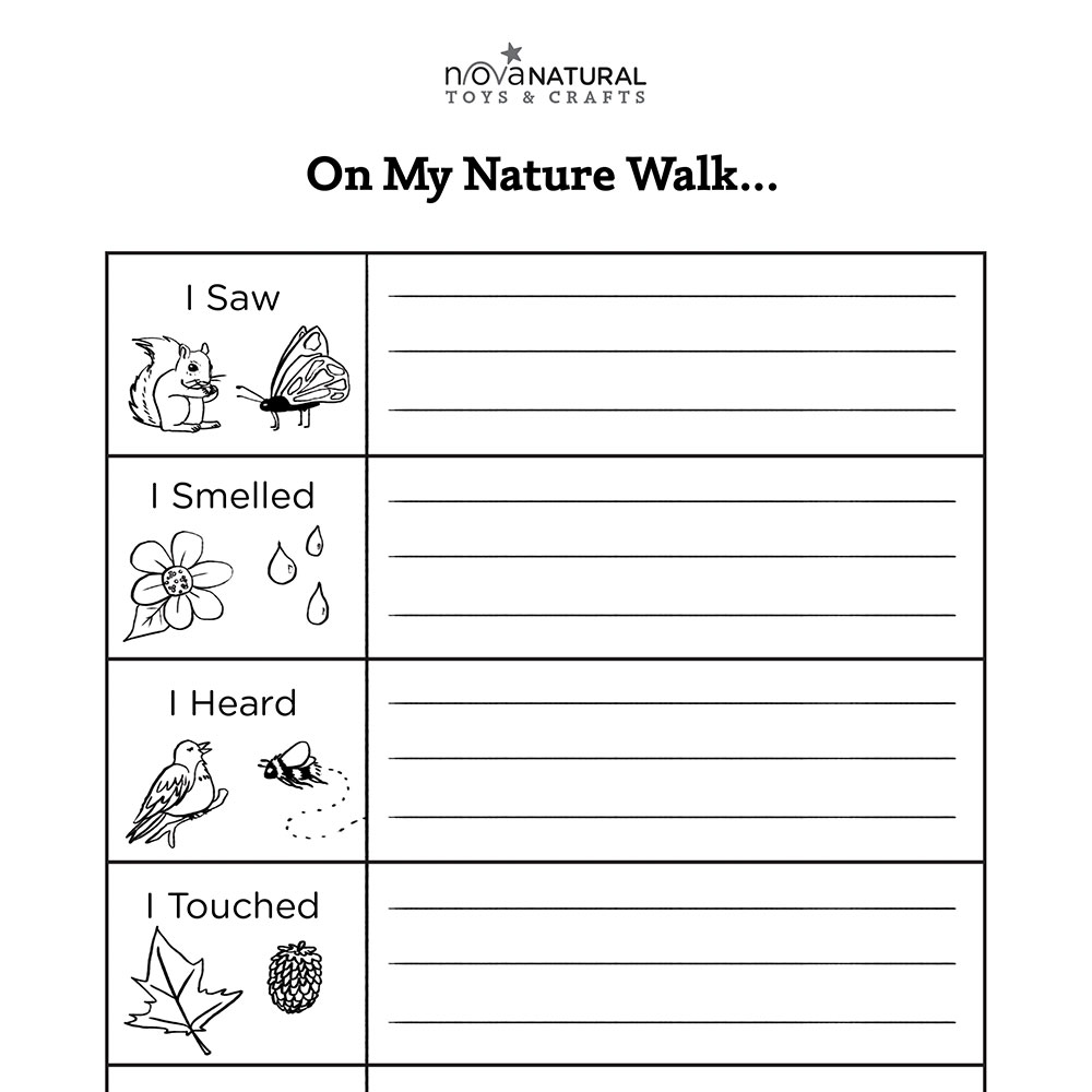 Activities - Five Senses Nature Walk   Walking in nature [ 1000 x 1000 Pixel ]