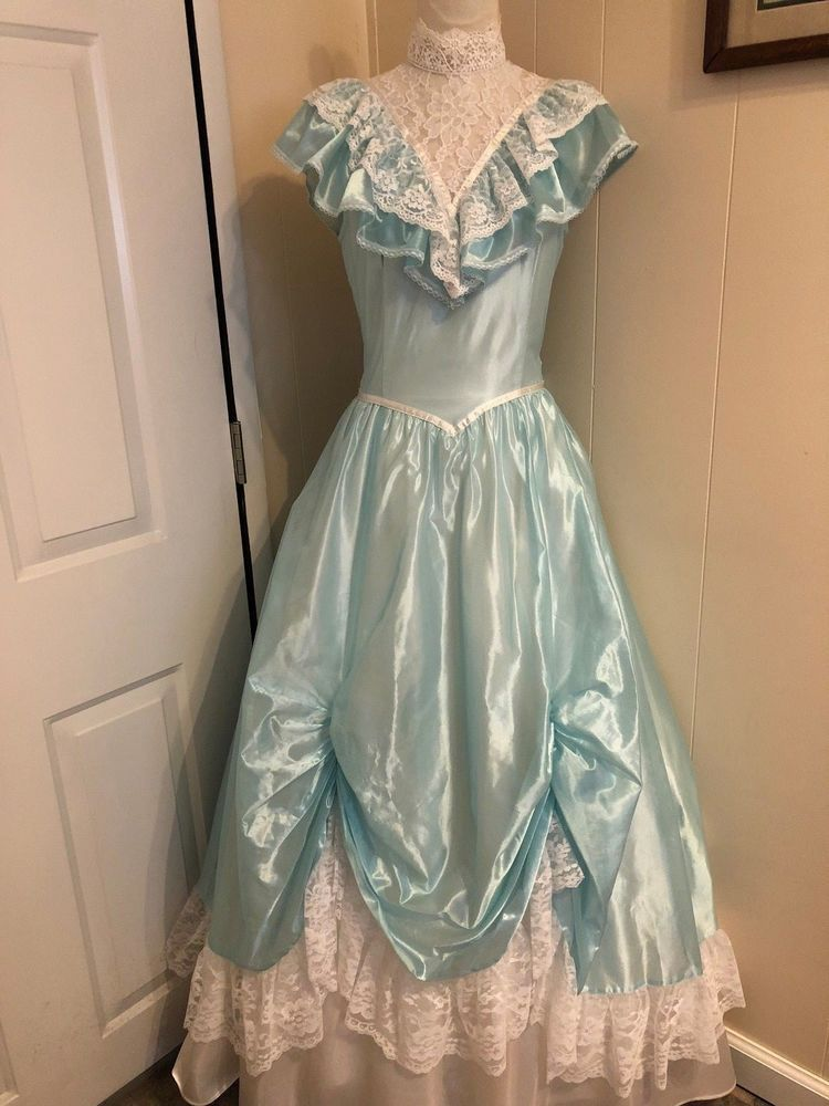 8313e358ab3 Vintage Gunne Sax by Jessica McClintock Prom Gown Formal Southern Belle  Gorgeous  GunneSax  BallGown  Prom