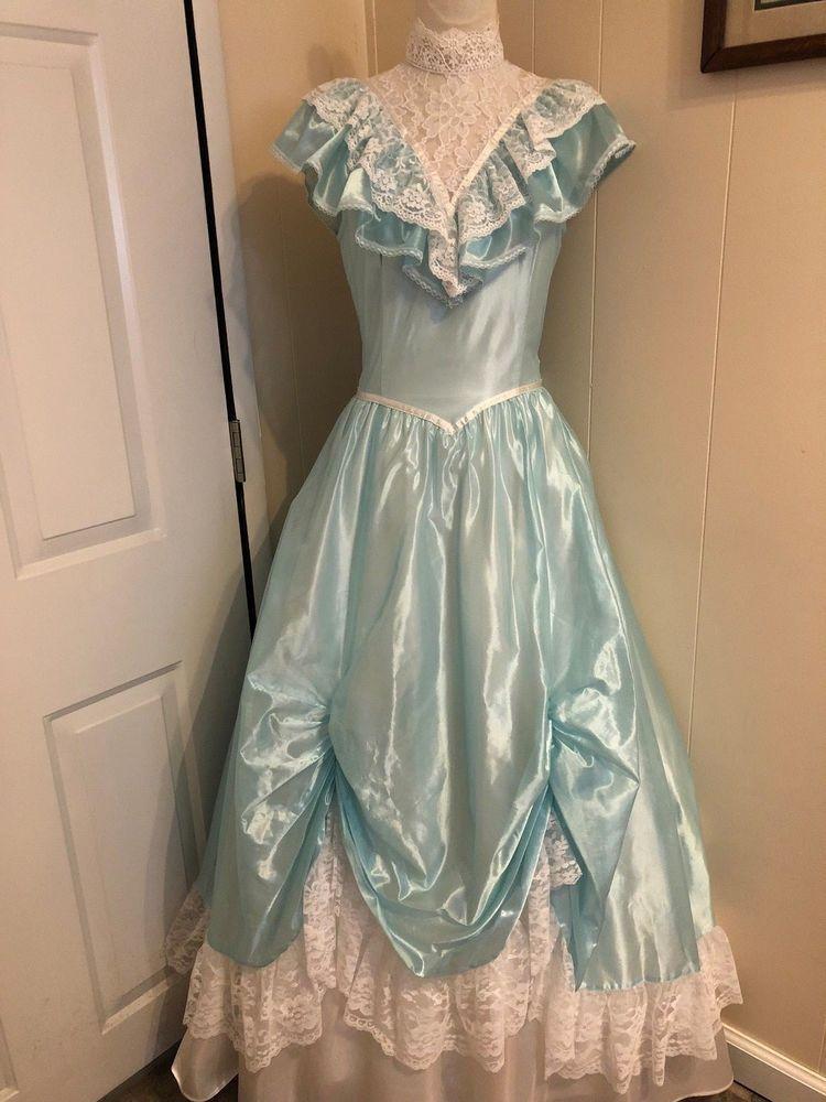 6b1b245291a Vintage Gunne Sax by Jessica McClintock Prom Gown Formal Southern Belle  Gorgeous  GunneSax  BallGown  Prom