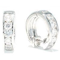 Vakre diamantøreringer - Creolo Grande