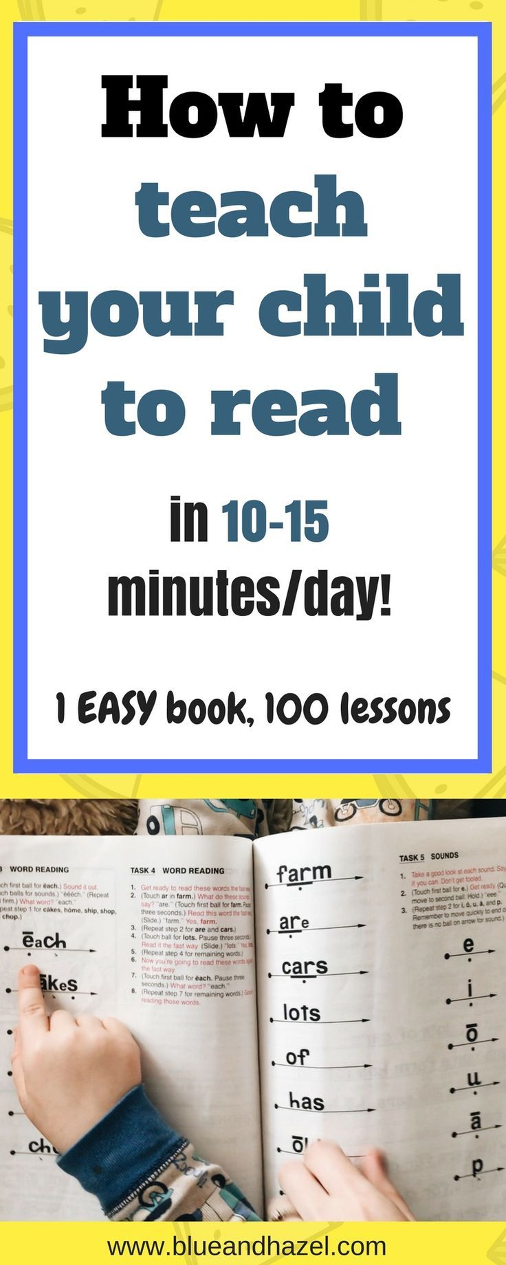 Teach Your Child To Read In 100 Easy Lessons Why It Works Teaching Child To Read Reading Lessons Easy Lessons How can i help my year old read
