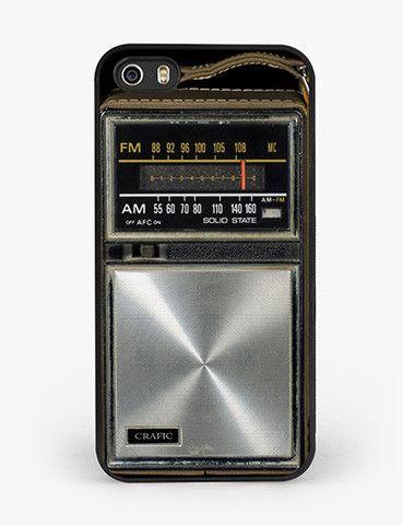 Pocket Radio iPhone 5/5S Bumper Case
