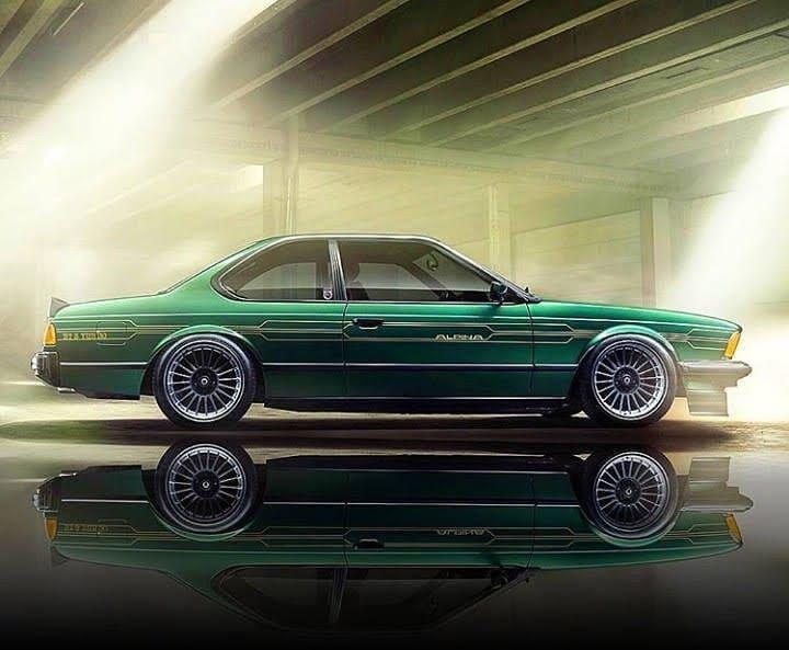 Alpina B7 Turbo Coupe/1 (E24) @mycarsmyway #BMWAlpina ...