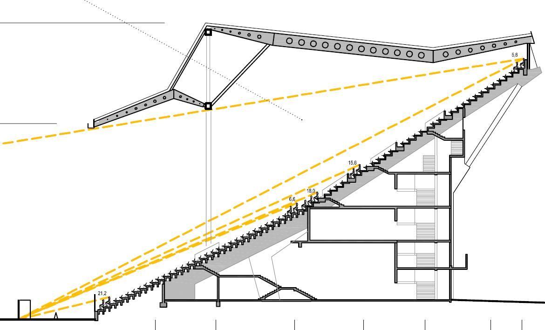 hight resolution of kaiserslautern stadium