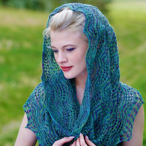 Knit Chiara By Judy Furlong Free Lace Infinity Scarf Or Snood