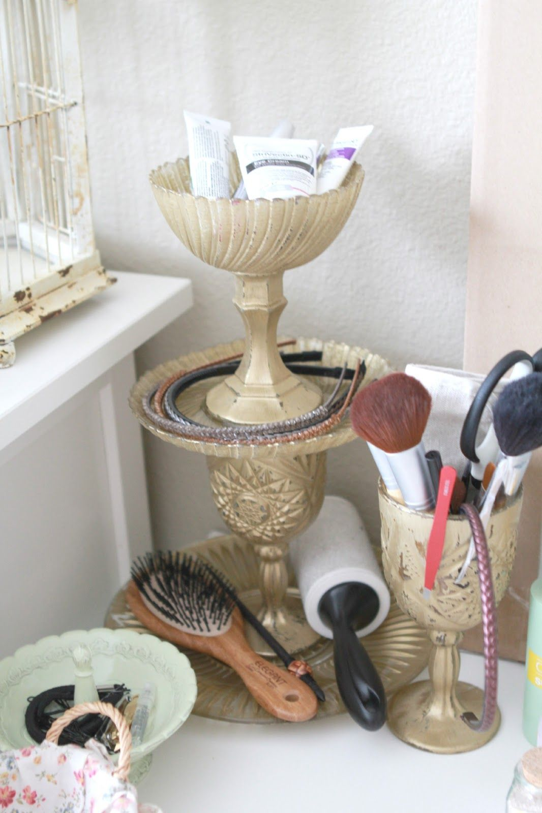 Diy vanity table organizer love this great ideas for the home