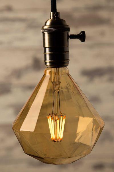 Sapphire Diamond Led Bulb E27 6 Watt Decorative Light Bulbs Led Light Bulb Low Energy Light Bulbs