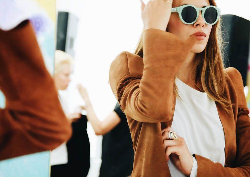 Diese Lederjacke lässt einfach ALLES cool aussehen!