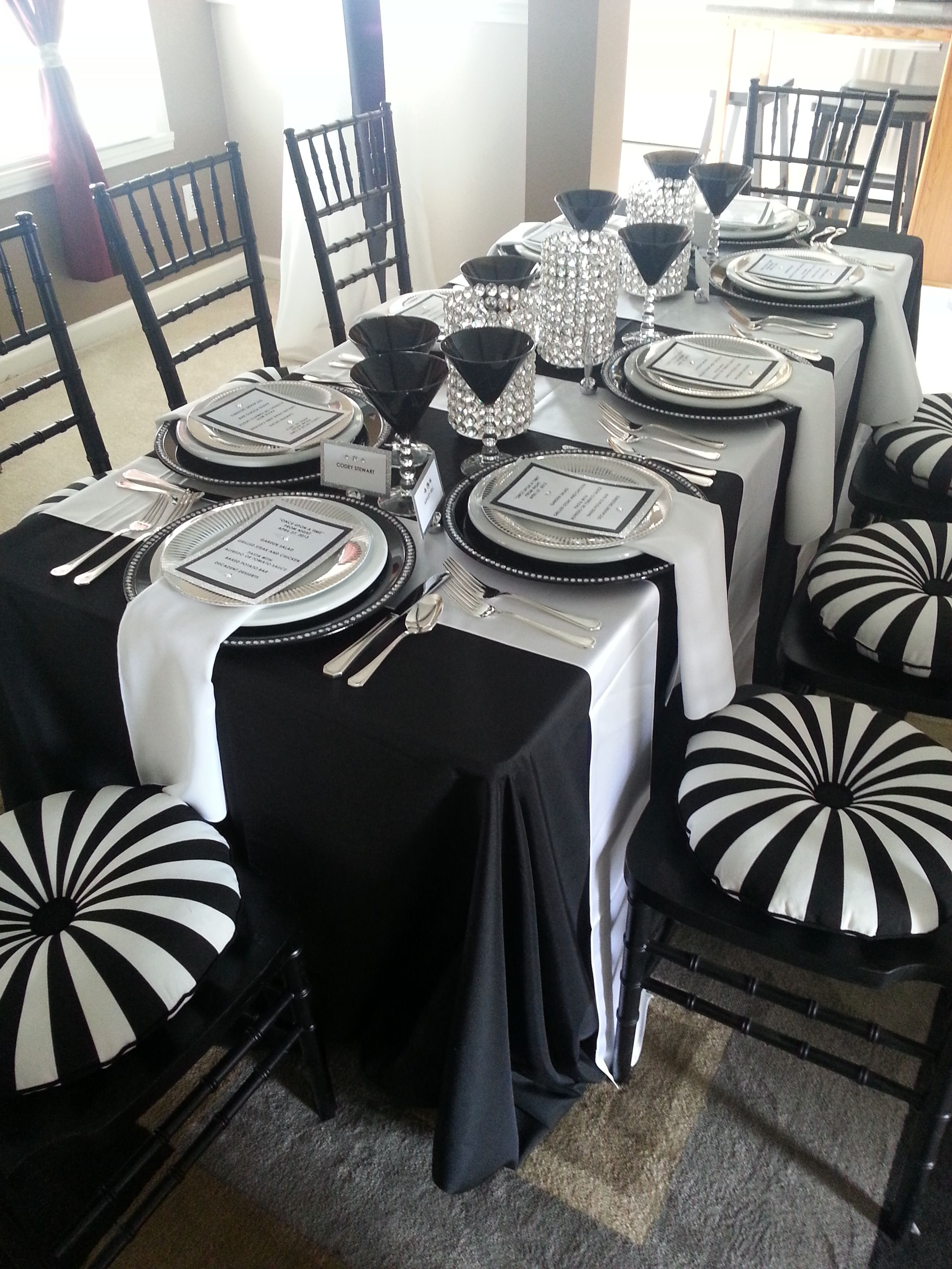 Prom Dinner Party Ideas Part - 15: Pre Prom Dinner Party By Www.settingthemood.biz