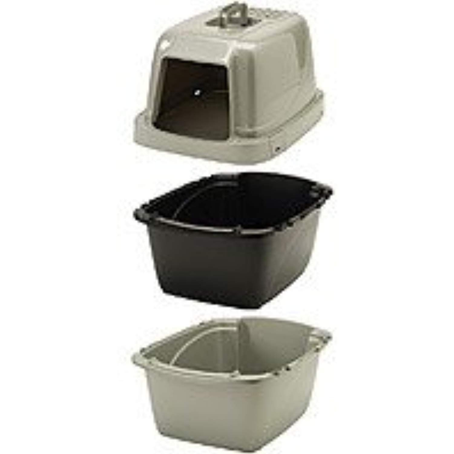 Van Ness Pureness Covered Cat Litter Box Find Out More About The Great Product At The Image Link This Is An Affiliate Cat Litter Cat Litter Pan Litter Box