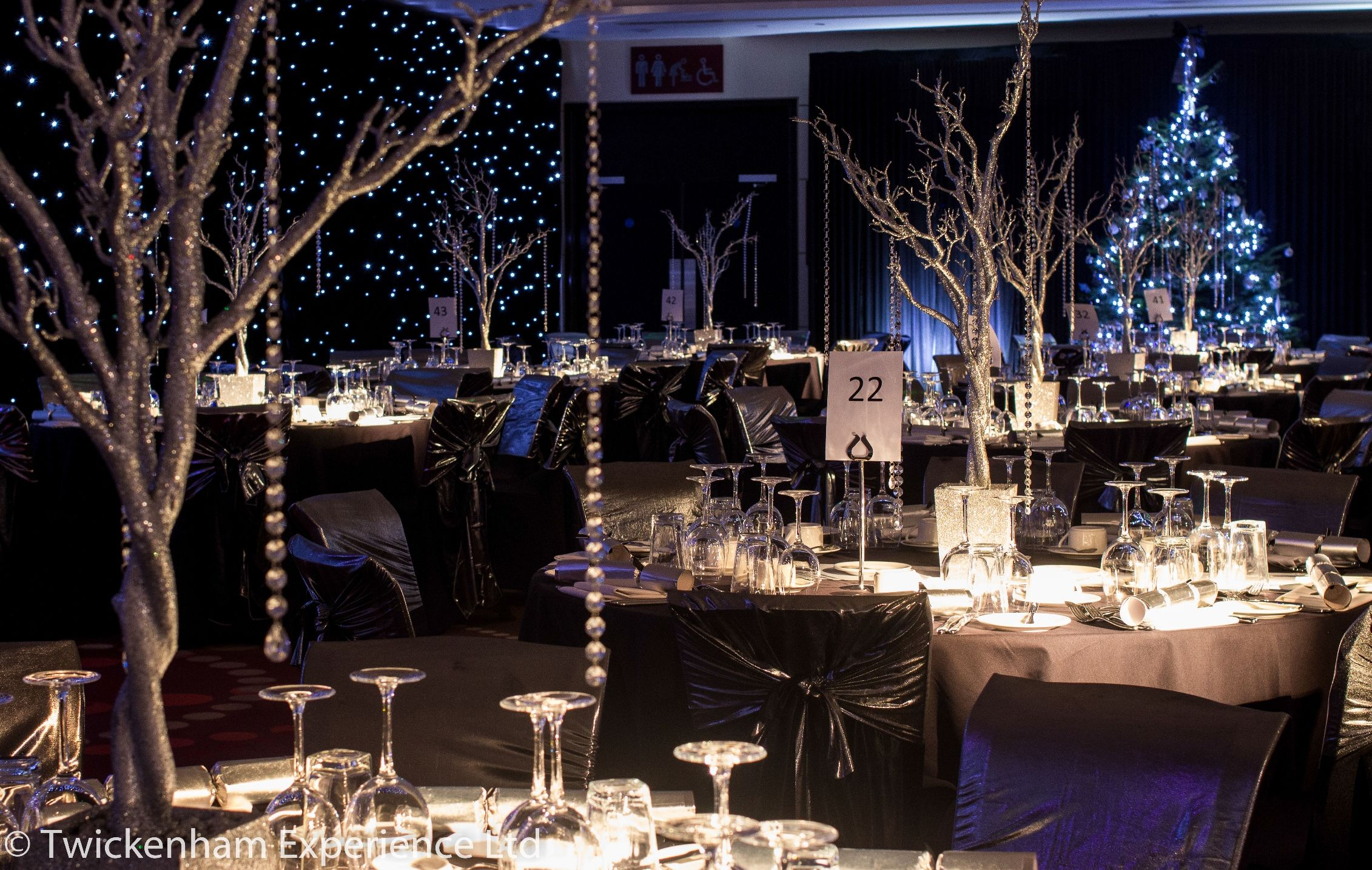 Christmas Party Ideas In London Part - 49: Christmas Party In The Rose Suite, Twickenham Stadium - London Venue