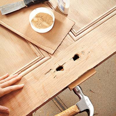 How to Turn an Interior Door into a Headboard | Doors, Scrap and ...