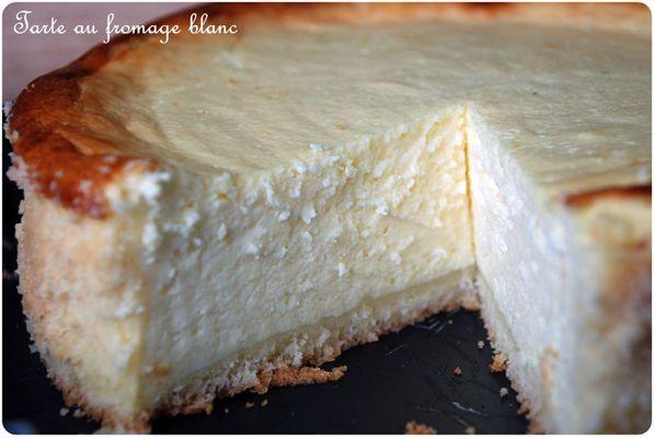 Gateau fromage blanc avec pudding vanille
