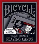 Tragic Royalty Bicycle Playing Cards