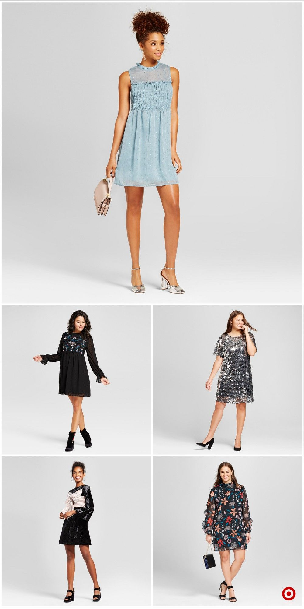 Shop Target For Shift Dresses You Will Love At Great Low Prices Free Shipping On All Orders Or Free Same Day Pick Up Fashion Nice Dresses Cute Church Outfits [ 2000 x 1000 Pixel ]