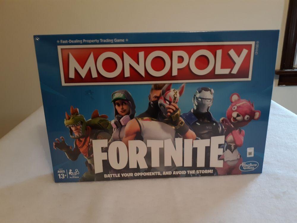 Monopoly Fortnite Board Game Nib 13 And Older Fortnite Monopoly