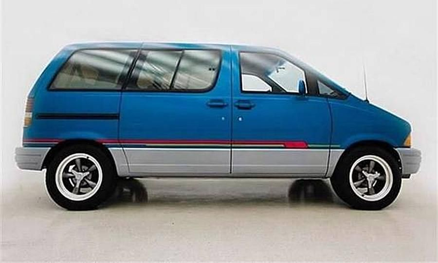 Hot Rod Minivan Packs Mustang Power Mini Van Ford Aerostar Mustang