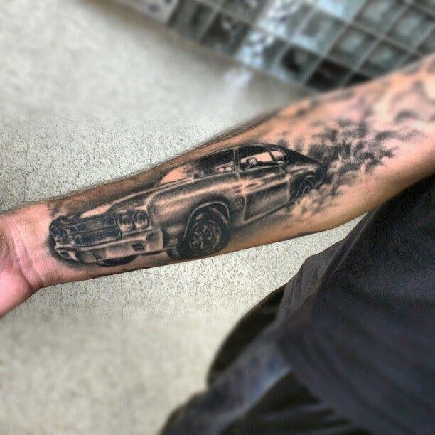 4eb3b0c188897 Car Tattoos Pictures   Best 3D Tattoo Ideas   Car tattoos, Tattoos ...