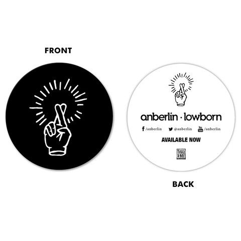 Anberlin Lowborn Sticker Tooth Nail Records Official