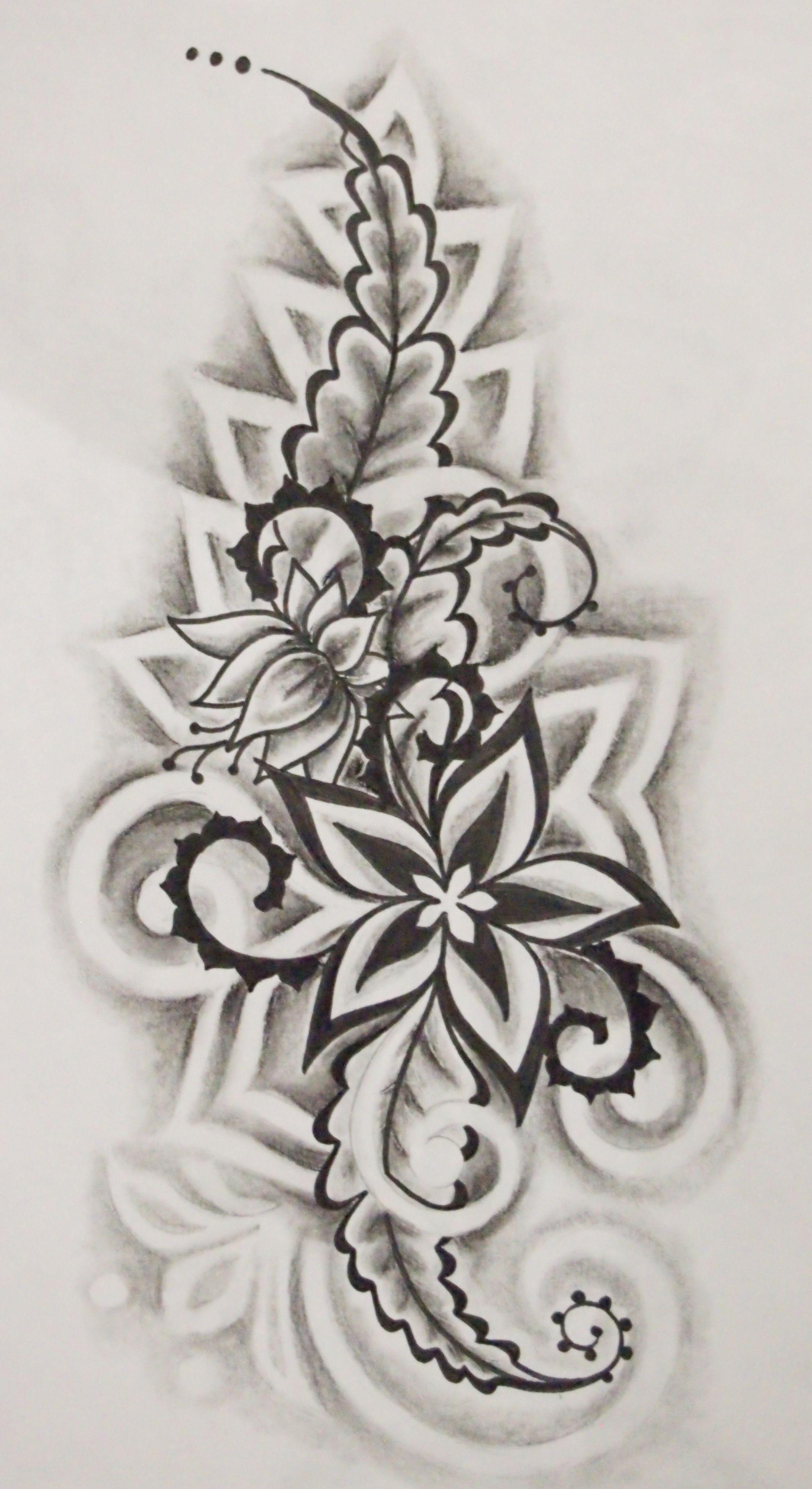 Dessiner tattoo recherche google fleur a dessiner - Fleurs a dessiner modele ...