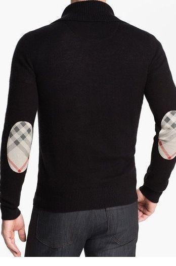 Burberry Cardigan zippé à patchs PVL091VrF