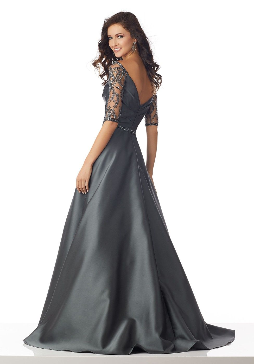 915624cd7c Mori Lee 71804 Illusion Sleeve Evening Dress | ruházat | Mother of ...