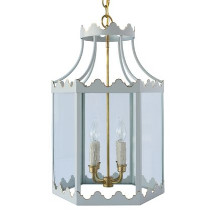 Second floor, custom colors.....The Paloma Lantern - Coleen and Company