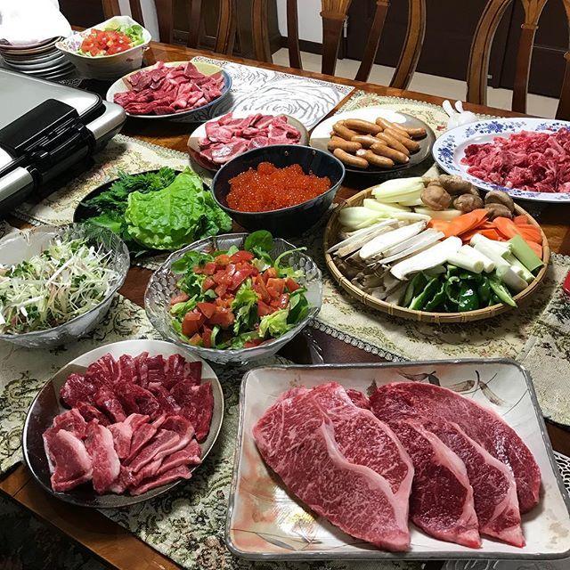 黒毛和牛祭り 焼肉パーティー 焼肉 黒毛和牛 肉 戸村家 Party 먹스타그램