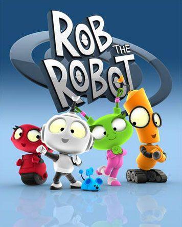 Rob The Robot Discovery Kids Desenhos Animados Antigos Desenhos