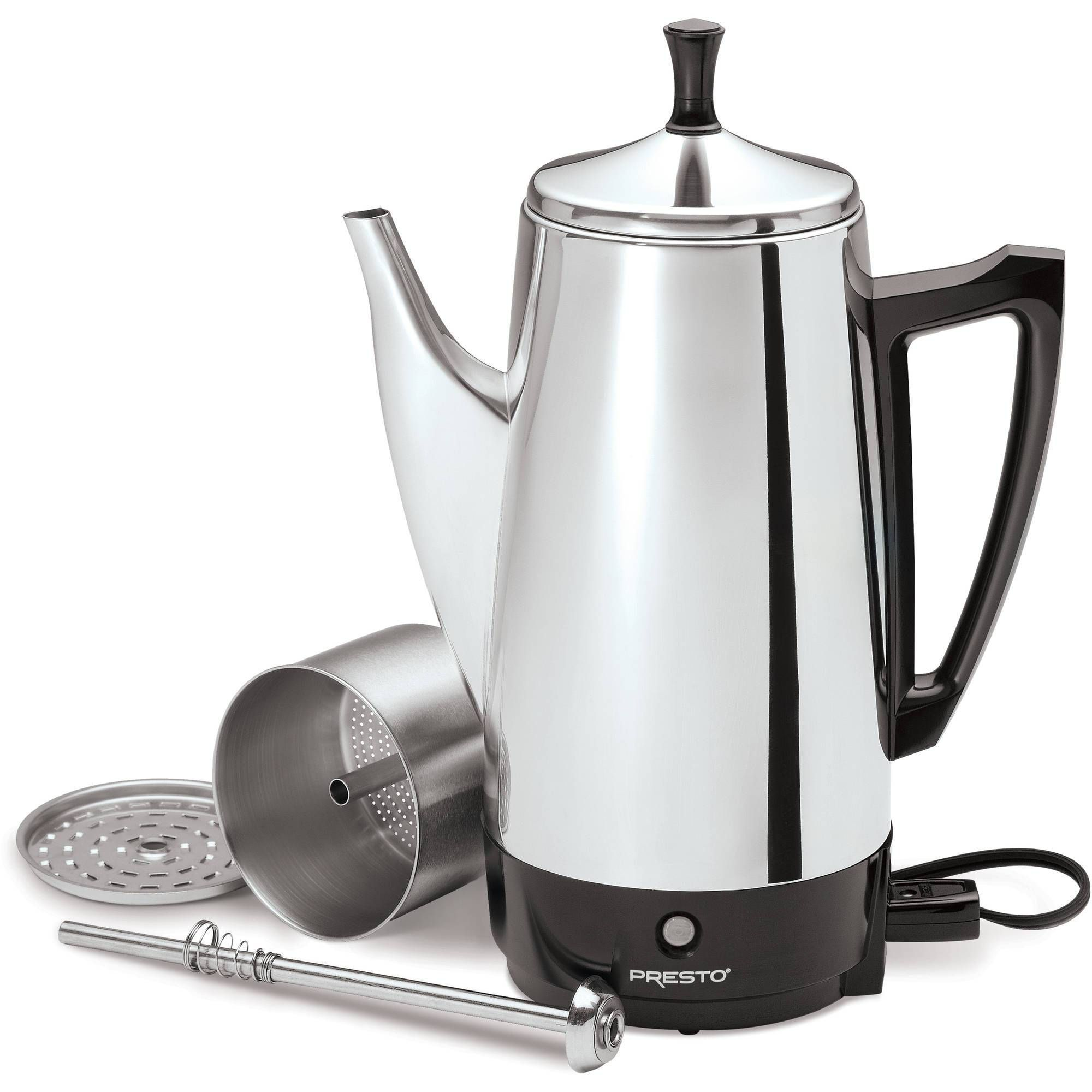Presto cup stainless steel coffee maker products in
