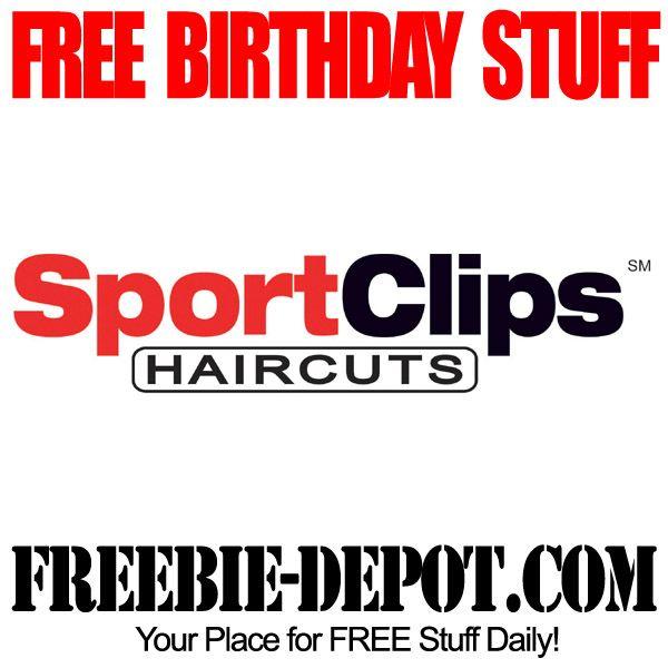 Birthday Freebie Sport Clips Free Birthday Stuff Birthday Freebies Sports Clips