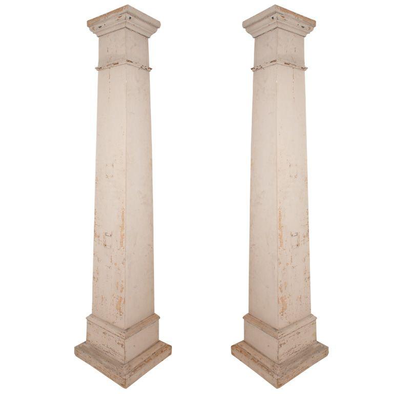 Pair Federal Style Columns