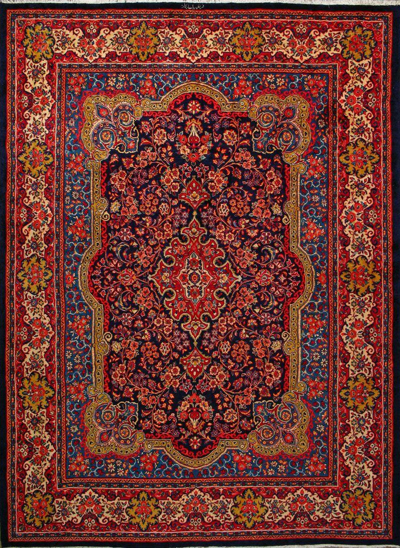 Sarough persian rug 9 39 10 x 13 39 1 markazi tappeti for Tappeti kilim ikea