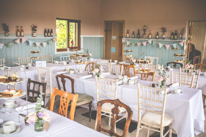Catherine And Alexanders Intimate Vintage Lace Afternoon Tea Wedding By LJM Photography