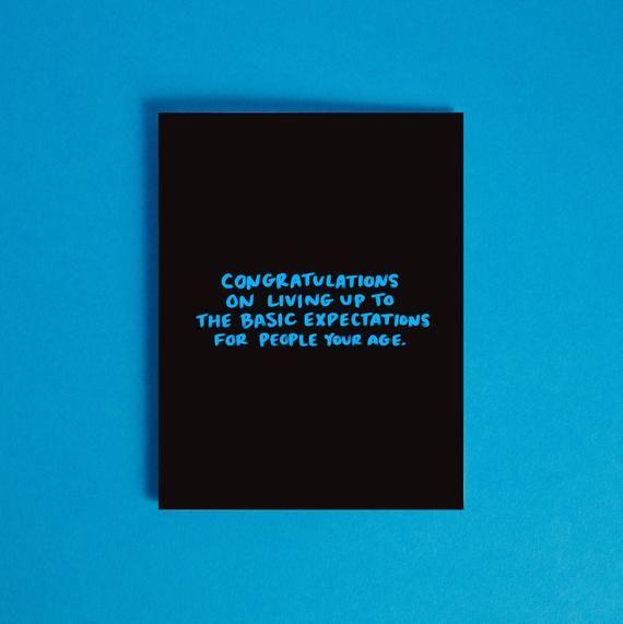 Photo of Funny High School Grad Card / Graduation Card / Card for Graduate / Funny Graduation Greeting Card / Snarky Card
