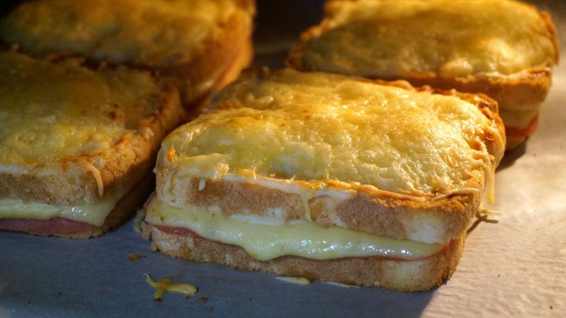 Sándwich croke monsieur