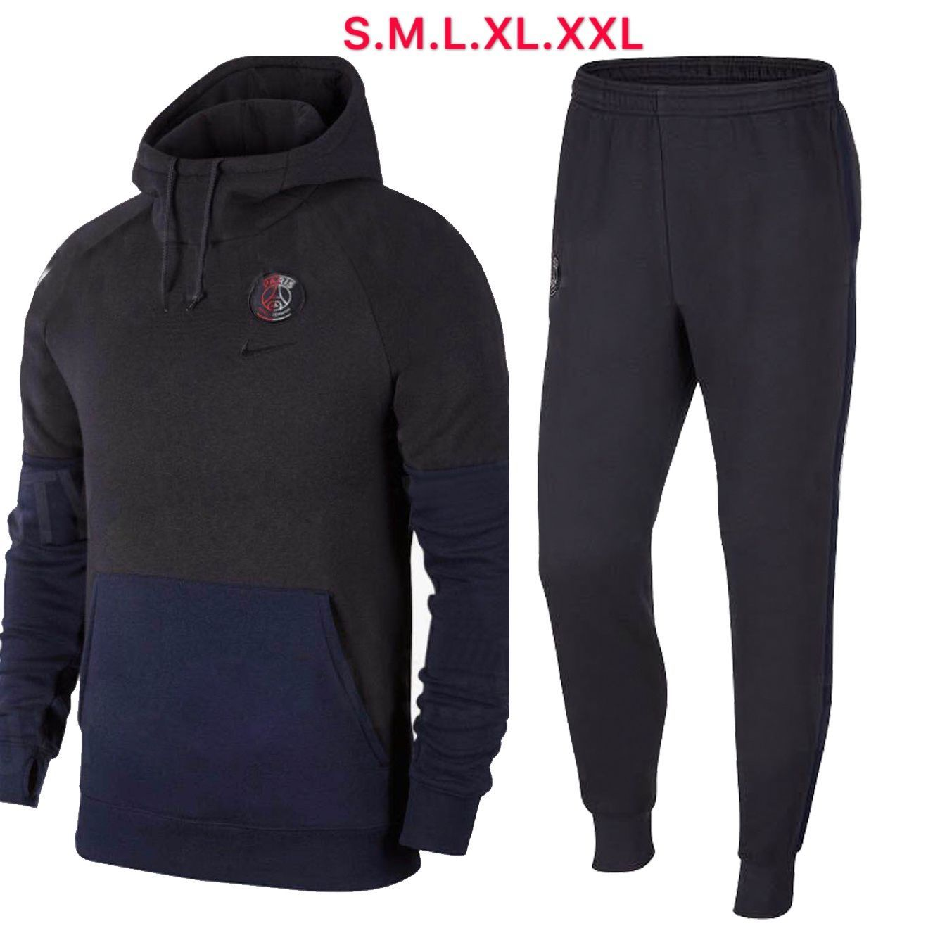 1920 men psg hoodies jacket soccerfootball uniformskits