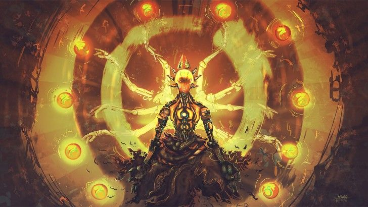 Zenyatta Overwatch Art Wallpaper | Games | Overwatch zenyatta ... zenyatta transcendence wallpaper